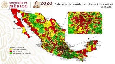 Photo of CDMX, Baja California, NL y Jalisco, en donde hay contagios de fase 3