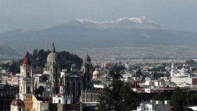Photo of En plena primavera, #Nevado de #Toluca amanece cubierto de aguanieve