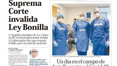 Photo of 🚨⚡️#Portada_Nacional Suprema Corte invalida Ley Bonilla #El_Universal