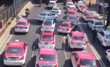 Photo of Taxistas marchan al Zócalo; exigen apoyo ante Covid-19