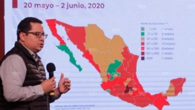 Photo of Suman 10 mil 637 muertes por Covid en México; hay 97 mil 326 casos