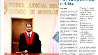 Photo of 🚨⚡️ #Portada_Morelos Portal de citas del TSJ solo sirve de buzón #El_Universal 🚨⚡️
