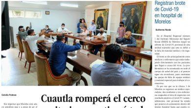 Photo of 🚨⚡️ #Portada_Morelos #Cuautla romperá el cerco sanitario y reactivará todas las actividades #El_Universal 🚨⚡️🏥