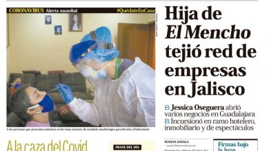 Photo of 🚨⚡️ #Portada_Nacional. Hija de El Mencho tejió red de empresas en Jalisco #El_Universal 🚨⚡️