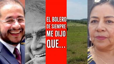 Photo of El bolero de siempre me dijo que …