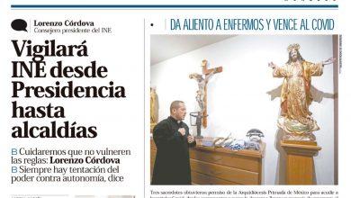 Photo of 🚨⚡️ #Portada_Nacional Vigilará   INE desde Presidencia hasta alcaldías #El_Universal 🚨⚡️