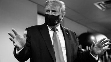 """Photo of Trump ahora defiende el uso del cubrebocas como gesto """"patriótico"""""""
