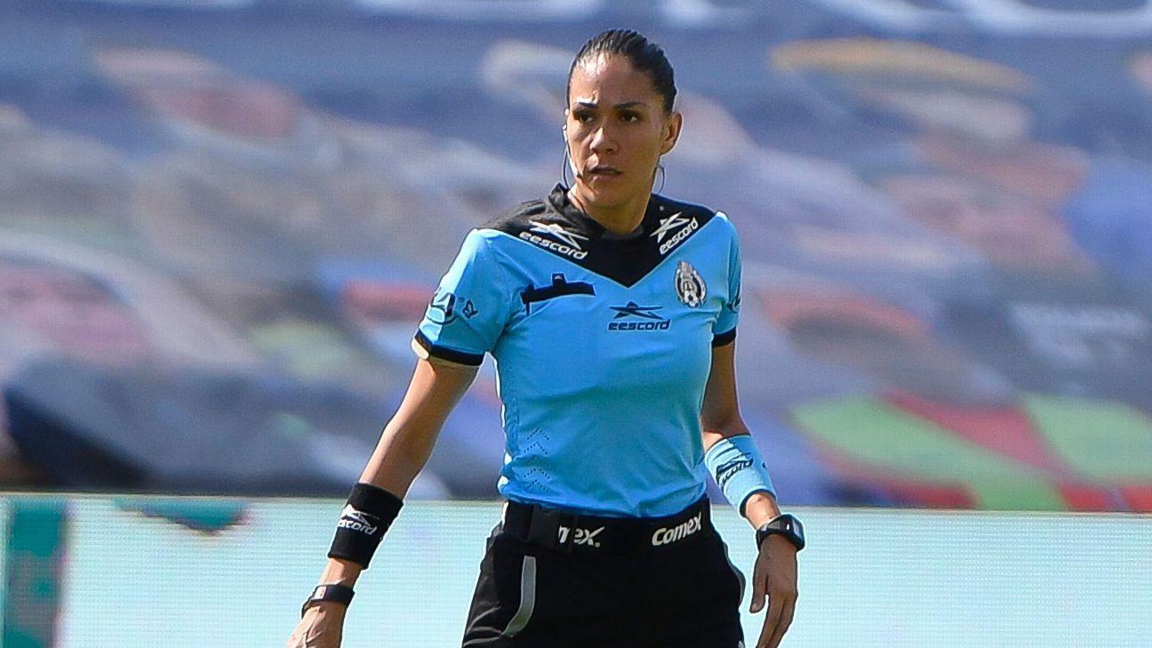 Photo of Diana Pérez recibe oportunidad silbar en el Pachuca ante San Luis