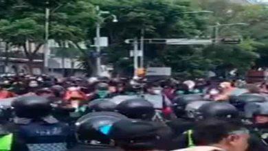 Photo of Feministas marchan a favor del aborto rumbo a la Corte