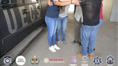 Photo of UECS rescata a hombre secuestrado y detiene a tres personas, en Cuernavaca