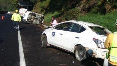 Photo of Accidente vehicular en la autopista México-Cuernavaca