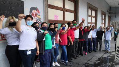 Photo of En paro, 960 trabajadores sindicalizados de Telmex en Morelos