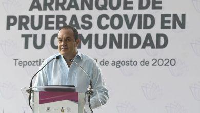 Photo of Encabeza gobernador inicio de pruebas covid en comunidades morelenses