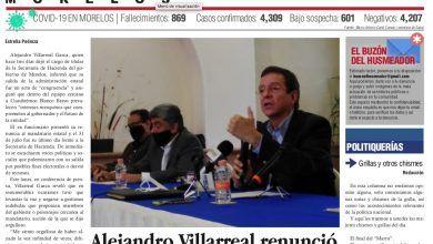 Photo of 🚨⚡️ #Portada_Morelos Trabajadores volvieron a sus labores y ahora son víctimas de la delincuencia #EL_Universal 🚨⚡️