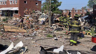 Photo of Explosión sacude barrio de Baltimore, deja al menos un muerto y personas atrapadas