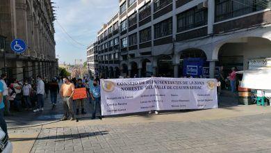 Photo of Habitantes bloquean el primer cuadro de la ciudad.