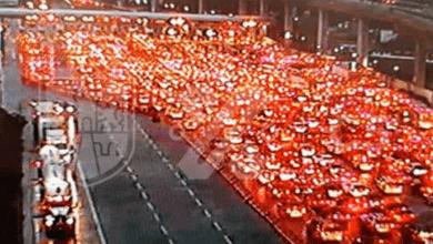 Photo of Pese a alerta de semáforo rojo, autos saturan la México-Cuernavaca