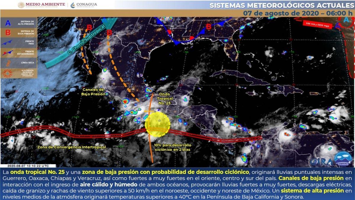 Photo of Se mantiene potencial de lluvias durante el fin de semana en Morelos