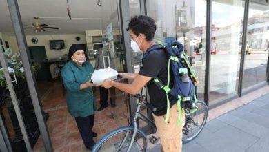 Photo of Jóvenes aprovechan su gusto por andar en bici para emplearse