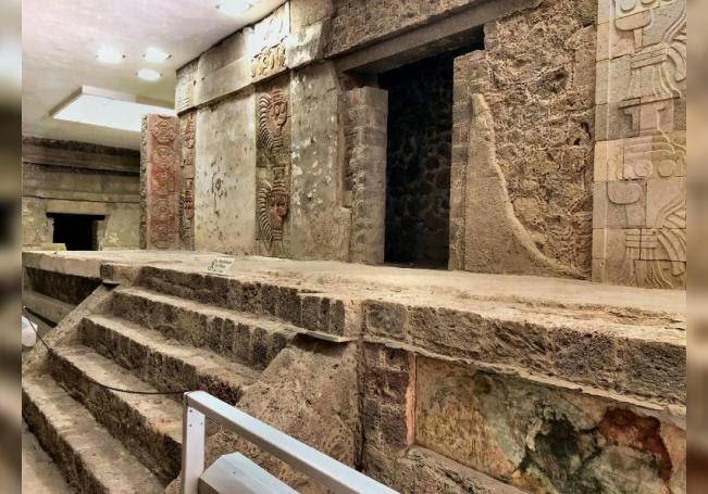 Photo of Cinabrio y hematita fueron utilizados en pintura mural de Teotihuacan