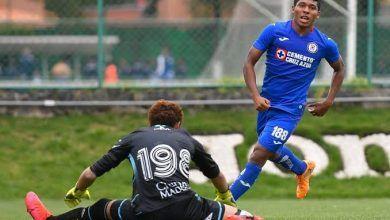 """Photo of El Cruz Azul sub-20, sin """"refuerzos"""" golea al León"""