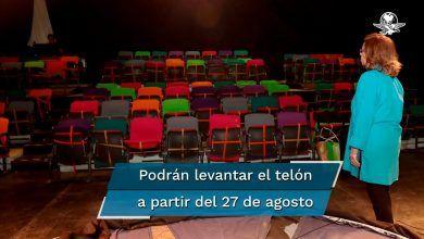 Photo of Teatros podrán abrir el 27 de agosto al 30%