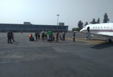 Photo of Roban aeronave Jet Hawker 700 del aeropuerto 'Mariano Matamoros'