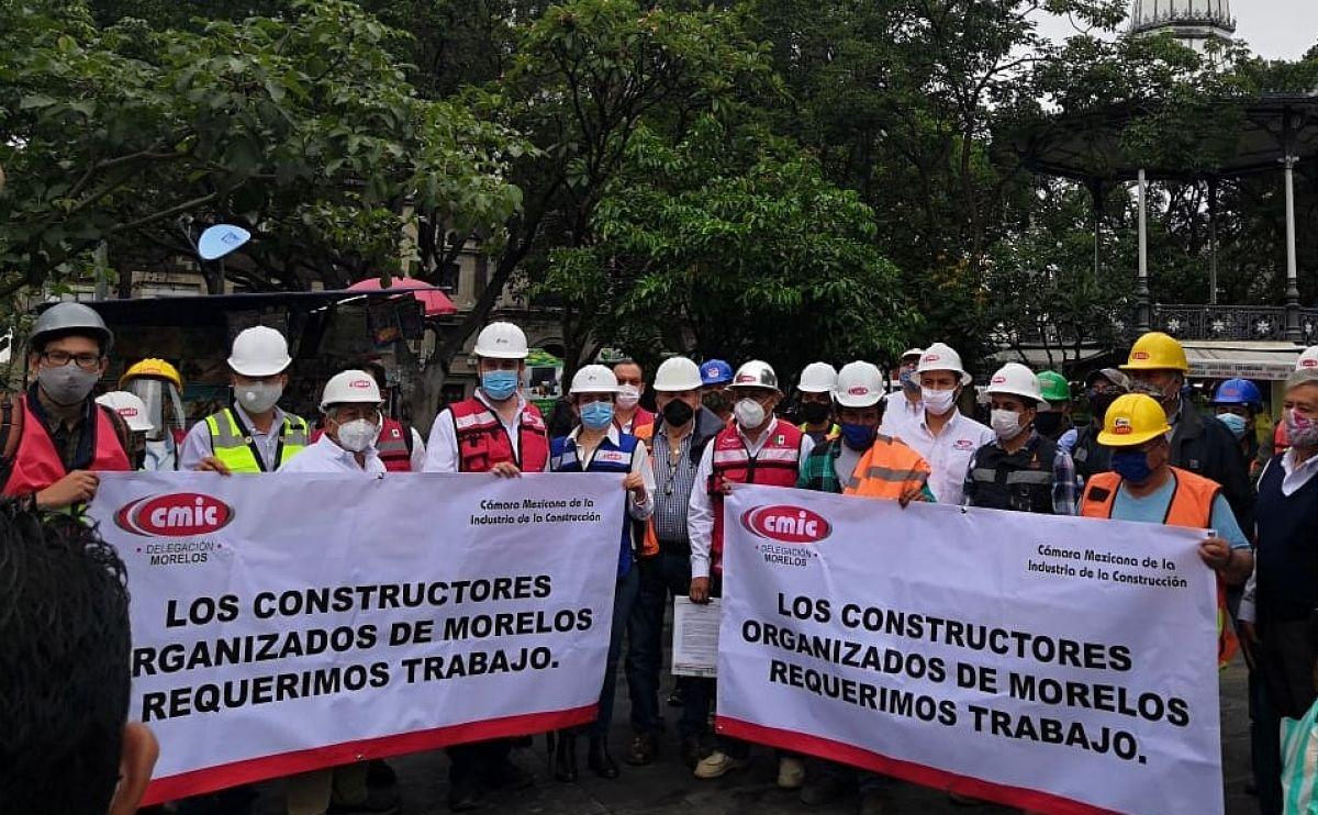 Photo of Demandan apoyo integrantes y dirigentes de la CMIC