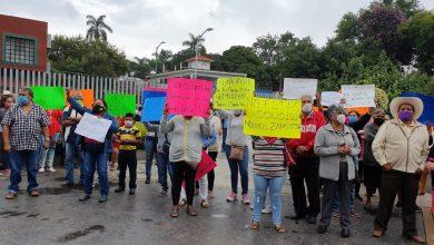 Photo of Se manifiestan habitantes de Tlayacapan en apoyo del diputado Marcos Zapotitla