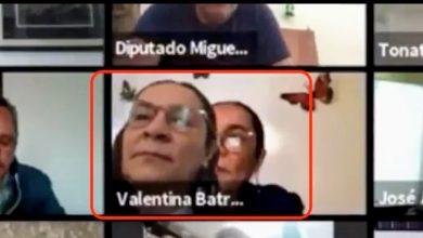 Photo of Diputada de Morena coloca foto en cámara para ausentarse en sesión