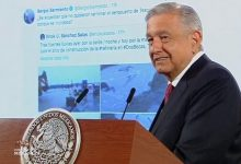 Photo of AMLO exhibe tuit de Sergio Sarmiento sobre Dos Bocas