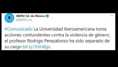 Photo of Ibero despide a docente por broma ofensiva contra Citlali Hernández