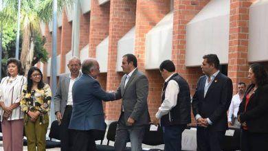 Photo of Entrega Gobernador de Morelos otro edificio a la UAEM
