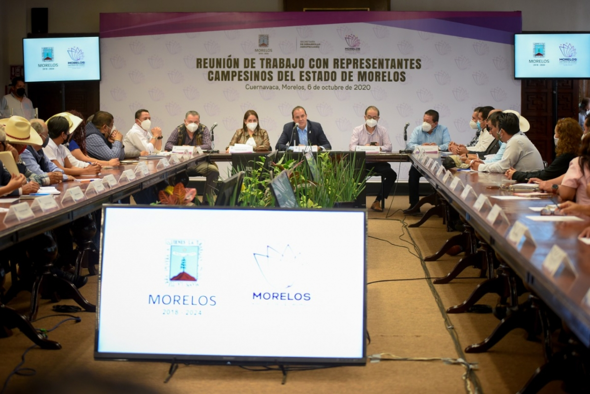 Photo of Promete Cuauhtémoc Blanco trabajo estrecho con grupos de campesinos morelenses