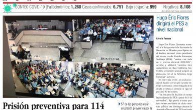 Photo of 🚨⚡️ #Portada_Morelos Prisión preventiva para 114 detenidos por delitos en las casetas de la México-Acapulco #El_Universal 🚨⚡️