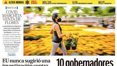 Photo of 🚨⚡️ #Portada_Nacional 10 gobernadores amagan a #AMLO con ruptura #El_Universal 🚨⚡️
