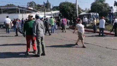 Photo of Protestan comerciantes del ALM y vecinos de Gualupita
