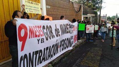 Photo of Protestan ex trabajadores del Seguro Popular, exigen recontratación