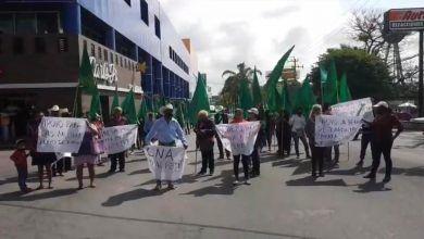 Photo of Bloquean organizaciones campesinas Plan de Ayala, demandan perforación de pozos de agua