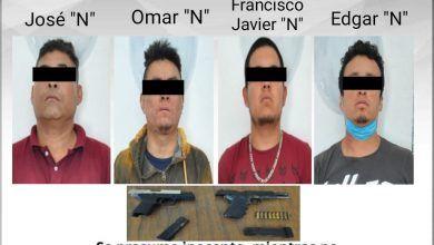 Photo of Detiene Policía Morelos a cinco hombres por su presunta participación en robo a joyería