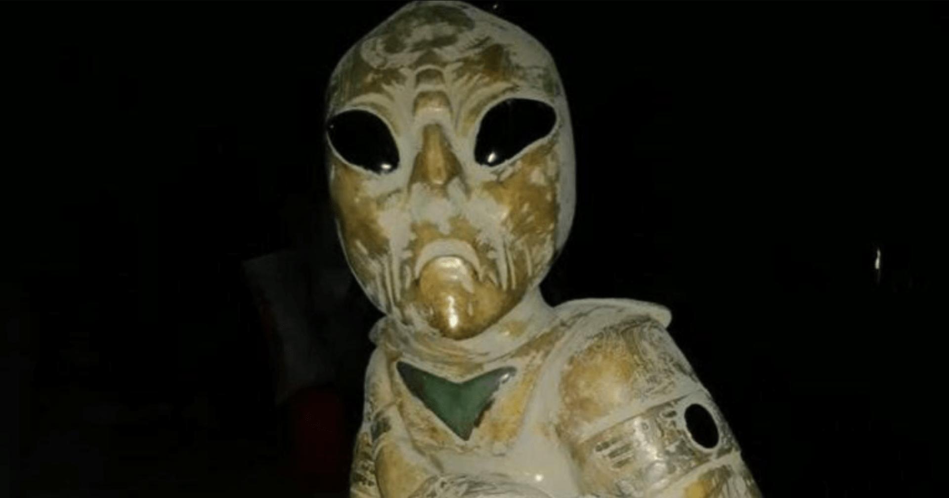 Photo of La verdad sobre las figuras de alienígenas halladas en la construcción del Tren Maya