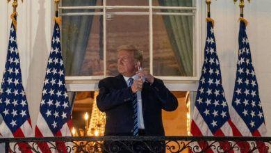 Photo of Dan alta a Trump, llega a la Casa Blanca… y se quita el cubrebocas