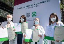 Photo of CDMX reconoce labor de personal médico en lucha contra Covid