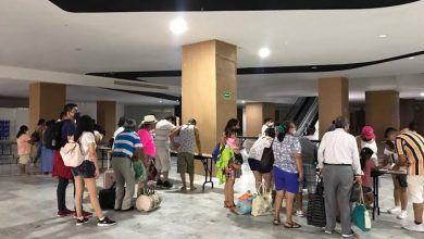 Photo of Inicia evacuación de turistas en zona hotelera de Cancún por huracán
