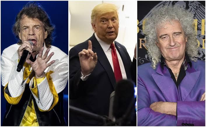 Photo of Hasta con la música ha tenido problemas Donald Trump