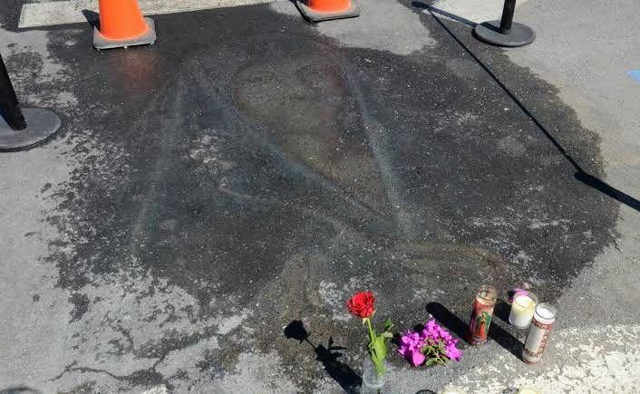 """Photo of """"Reaparece"""" imagen religiosa en estacionamiento de Nuevo León"""